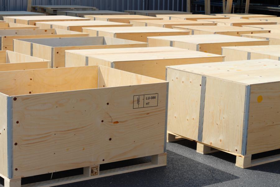 Exportkisten bei der Peisker-Logistik GmbH erhältlich
