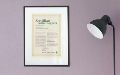 Zertifikat Grüne Logistik